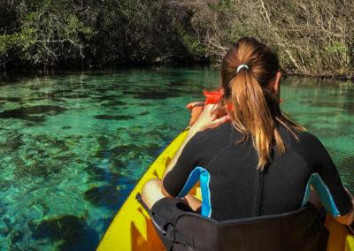 weeki-wachee-river-girl-kayak